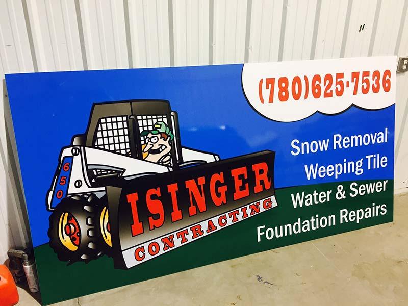 Isinger Sign