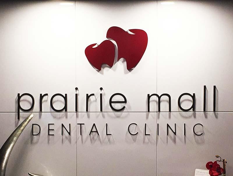 Prairie Mall Sign