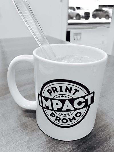 Impact Print Promo Mug