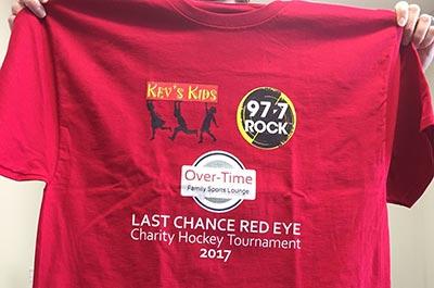 Kevs Kids T-Shirt Red